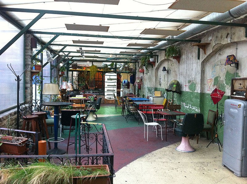 Szimpla Kert during the day