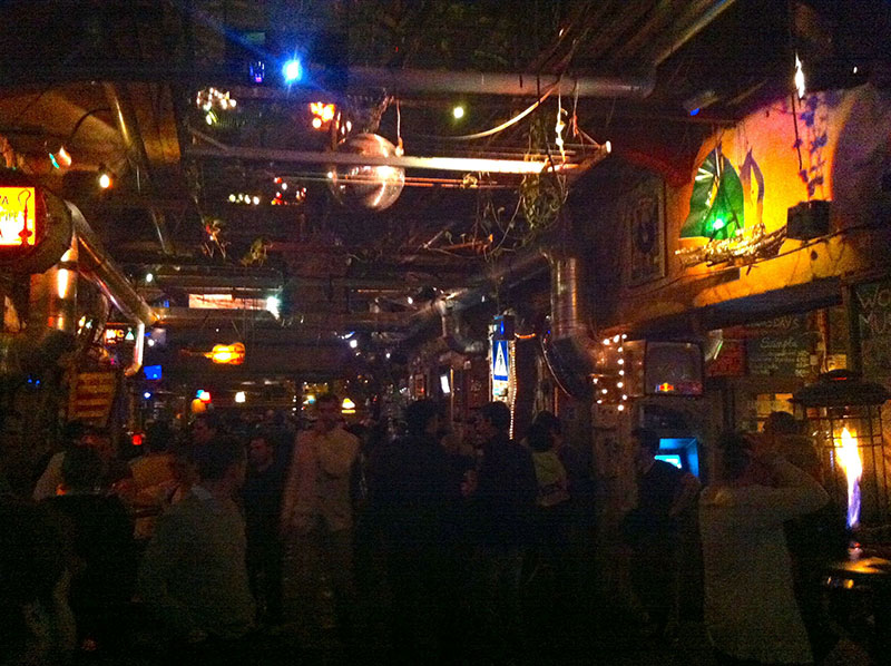 Szimpla Kert much busier at night!