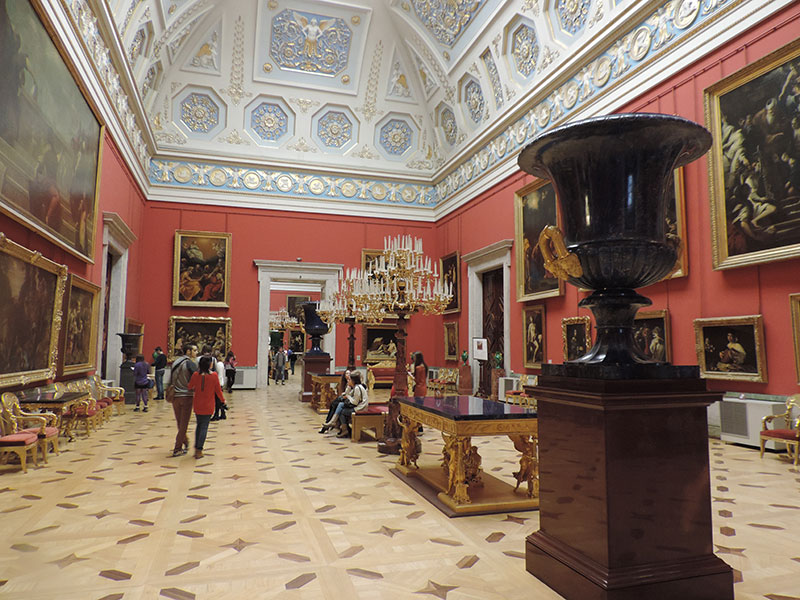 Just another beautiful room at the Hermitage