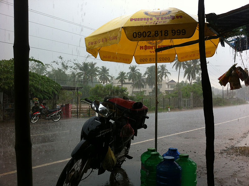This is the weather we came to Vietnam for...