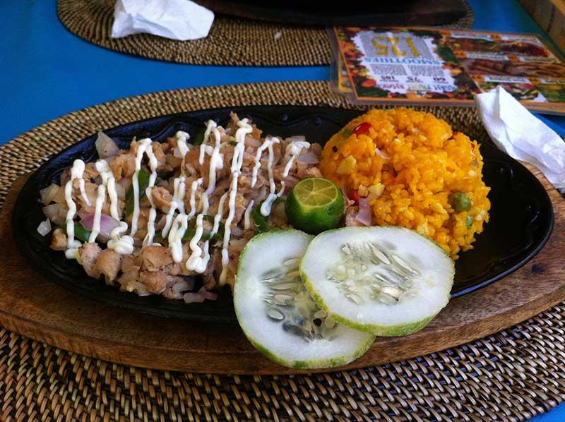Chicken Sisig from Hakuna Matata