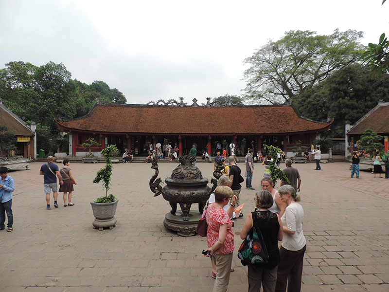 Temple of Literature courtyard