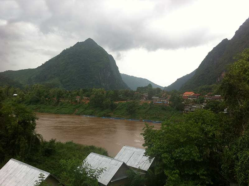Nong Khiaw Guesthouse View