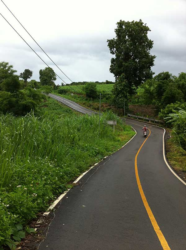 Typical Pai roads