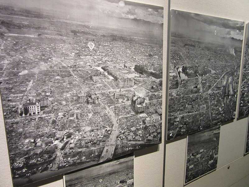 The devastation after WW2