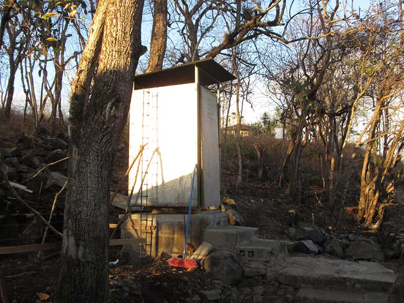 The dreaded outhouse