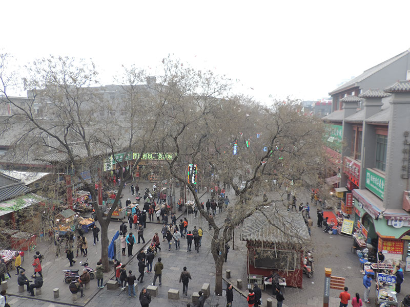 The Muslim Quarter from the drum tower