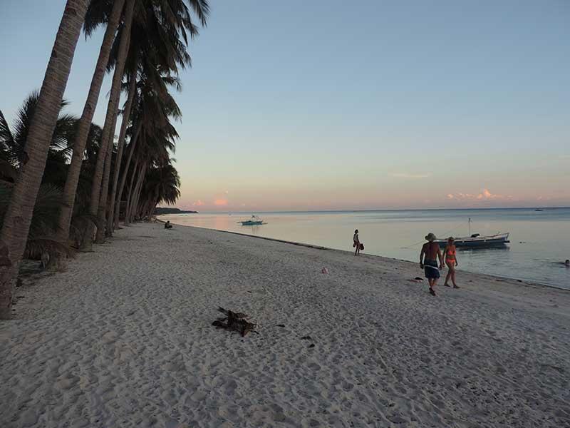 Beautiful beach at our resort