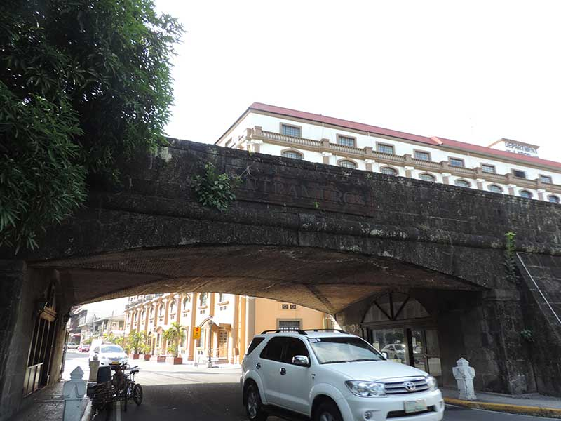 Entering Intramuros