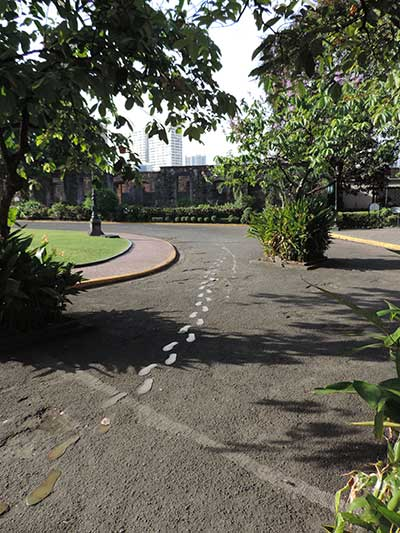 Rizal's footsteps