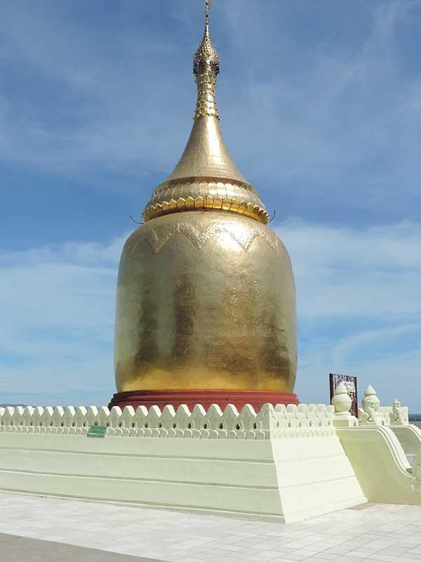 The stupa at Bupaya