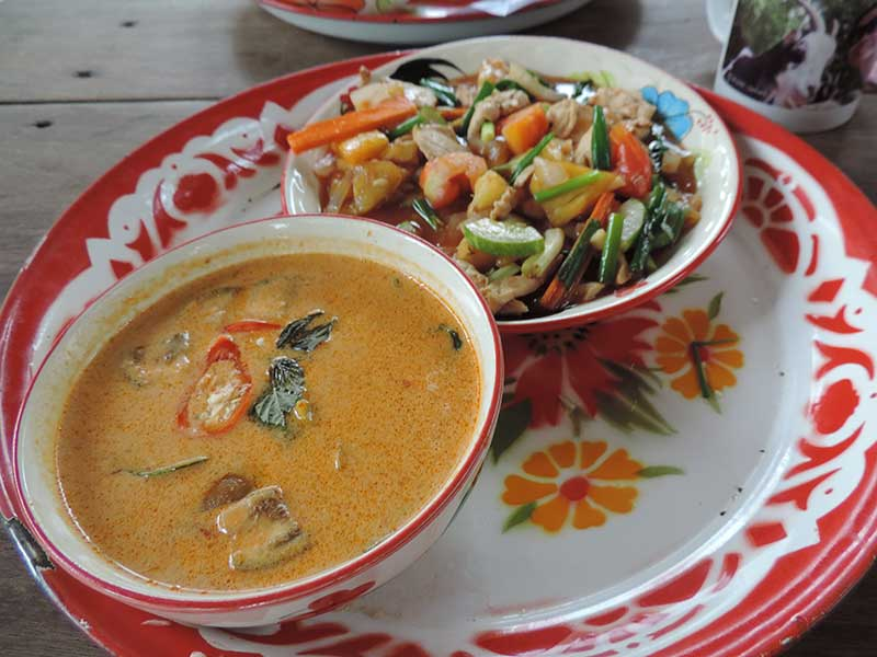 My red curry