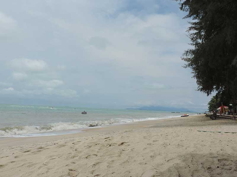 Not a bad beach but not one of Penang's highlights