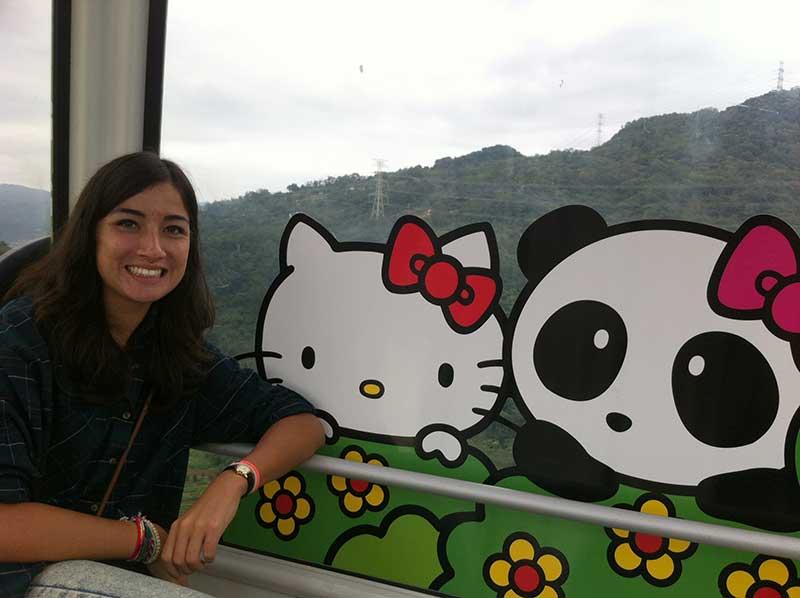 Katy and Hello Kitty