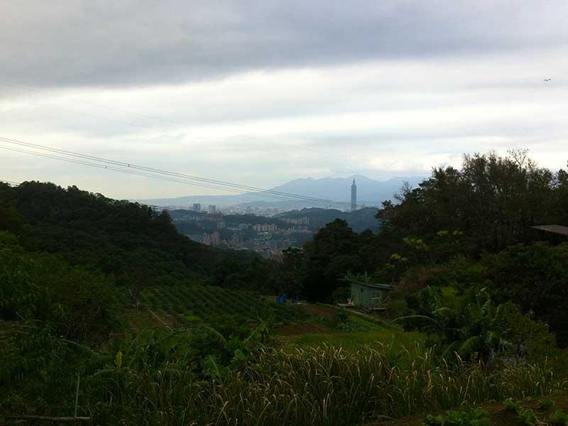 View from Maokong Gondola
