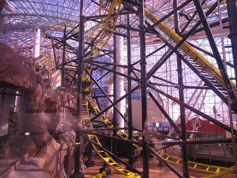 The awesome new El Loco coaster - rode this about 8 times!