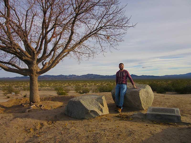 Chillin' in the Arizona desert